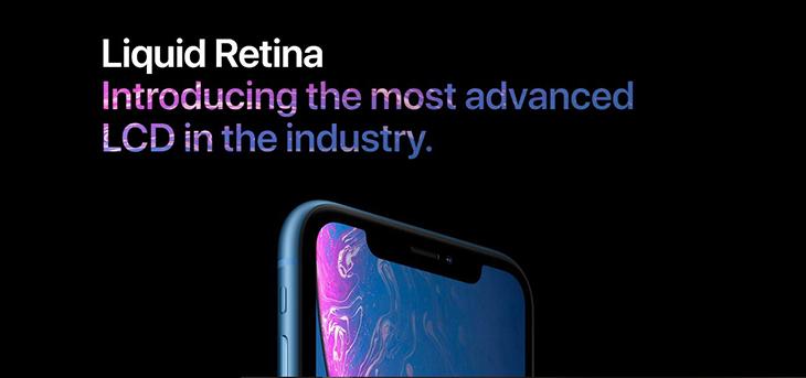 màn hình Liquid Retina